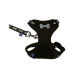 View Image 1 of ActiveGo Bone Harness by Dogo - Black