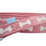 View Image 2 of ActiveGo Bone Leash by Dogo - Pink