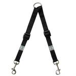 Adjustable Coupler Dog Leash - Black