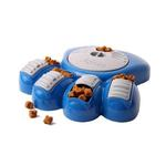 View Image 1 of Aikiou Dog Feeding Toy - Blue and Gray