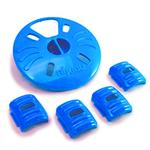 View Image 1 of Aikiou Dog Feeding Toy - Level 2 Inserts - Blue