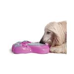 View Image 2 of Aikiou Dog Feeding Toy - Pink and Gray