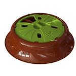 View Image 1 of Aikiou Junior Dog Feeding Toy - Green and Brown
