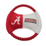 View Image 1 of Alabama Crimson Tide Rope Disc Dog Toy
