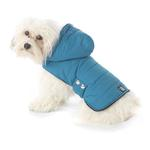 View Image 1 of Alberta Quilted Dog Parka - Teal