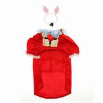 View Image 2 of Alice in Wonderland's White Rabbit Halloween Dog Costume