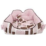 View Image 2 of Almee Dog Bed by Pinkaholic - Pink