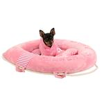 View Image 2 of Alpha Dog Bed by Puppia - Pink