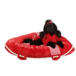 View Image 1 of Alpha Dog Bed by Puppia - Red