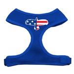 American Flag Eagle Dog Harness - Blue