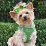 American River Ultra Choke-Free Mesh Dog Harness - Green