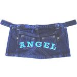 View Image 1 of Angel Denim Mini Skirt