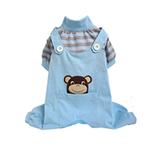 View Image 1 of Animal Overalls Dog Pajamas - Monkey