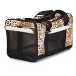 View Image 2 of Animal Print Duffle Carrier by Casual Canine - Cheetah