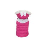 View Image 1 of Annabelle Quilted Dog Parka - Pink