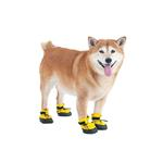 View Image 1 of Arctic Winter-Proof Dog Boots - Yellow