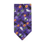 View Image 3 of Aria Boo Dog Bandana - Purple