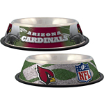 View Image 1 of Arizona Cardinals Dog Bowl