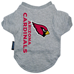 View Image 2 of Arizona Cardinals Dog T-Shirt