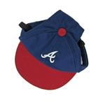 View Image 1 of Atlanta Braves Dog Hat