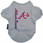 View Image 1 of Atlanta Braves Dog T-Shirt