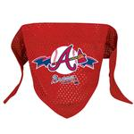 View Image 1 of Atlanta Braves Mesh Dog Bandana