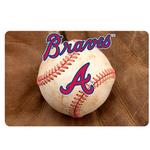 View Image 2 of Atlanta Braves Pet Bowl Mat