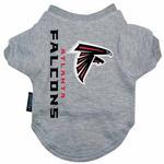 View Image 1 of Atlanta Falcons Dog T-Shirt