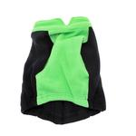 View Image 3 of Attitash Fleece Dog Jacket - Navy & Lime