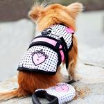 View Image 1 of Avant Garde Dog Harness - Couture Princess