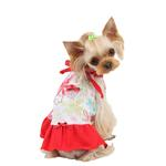 View Image 1 of Babe Dog Dress by Pinkaholic - Red