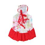 View Image 3 of Babe Dog Dress by Pinkaholic - Red