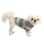 View Image 3 of Baby Bear Dog Hoodie by Pinkaholic - Blue