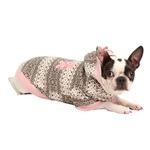 View Image 1 of Baby Bear Dog Hoodie by Pinkaholic - Pink