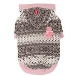 View Image 3 of Baby Bear Dog Hoodie by Pinkaholic - Pink