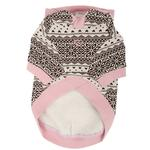 View Image 2 of Baby Bear Dog Hoodie by Pinkaholic - Pink