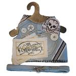 View Image 1 of Bad Doggy Harness Vest w/ Leash