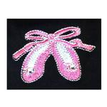 View Image 3 of Ballerina Slippers Tutu Embroidered Dog Dress