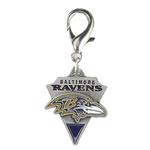 View Image 1 of Baltimore Ravens Pennant Dog Collar Charm
