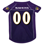 View Image 1 of Baltimore Ravens Dog Jersey - Purple