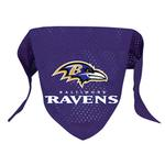 View Image 1 of Baltimore Ravens Mesh Dog Bandana