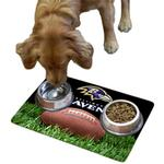 View Image 1 of Baltimore Ravens Pet Bowl Mat