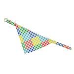 View Image 1 of Bandana Dog Collar - Checkered
