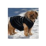 View Image 2 of Bandit's Velour Dog Hoodie - Black