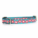 View Image 1 of Fido Finery Dog Collar - Teal My Heart