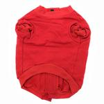 View Image 3 of Barkley's Cozy Dog Sweatshirt - Red