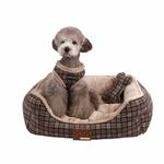 View Image 1 of Barron House Dog Bed by Puppia  - Gray