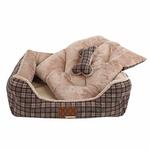 View Image 2 of Barron House Dog Bed by Puppia  - Gray