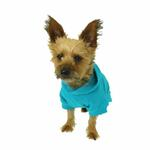 View Image 2 of Basic Dog Hoodie - Bluebird