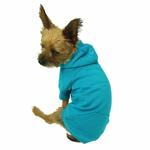 View Image 3 of Basic Dog Hoodie - Bluebird